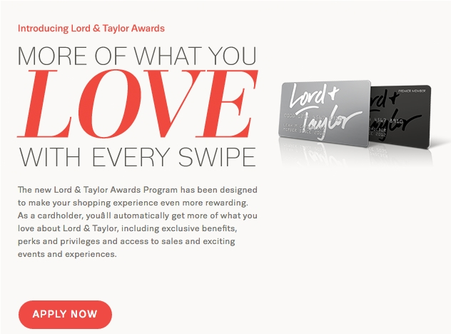 lord and taylor credit card application