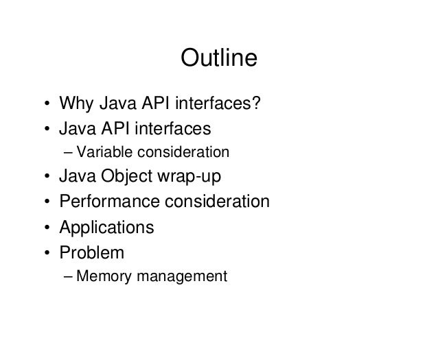what is application programming interface in java