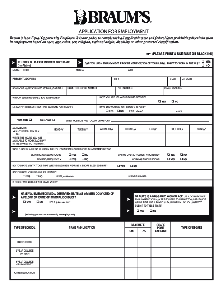 walmart job application print out
