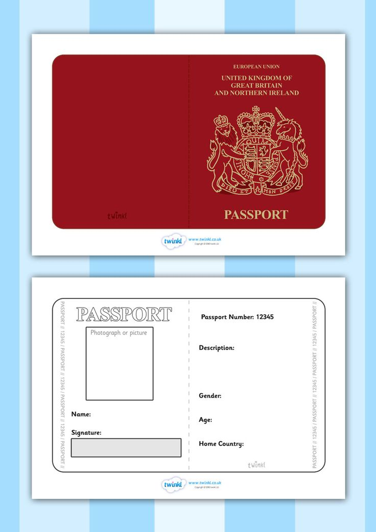 british passport application for child