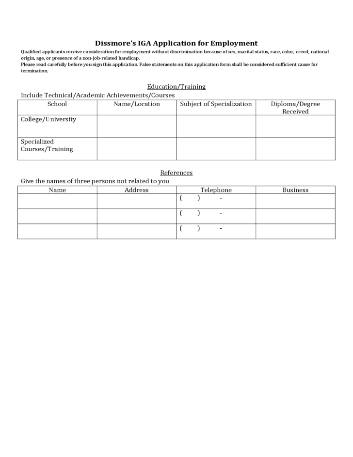 save on foods application form