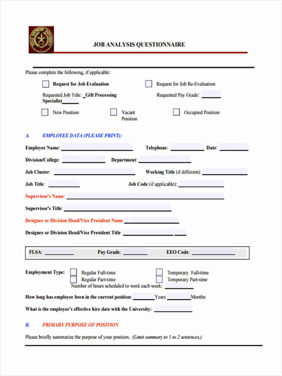 why do employers use job application forms