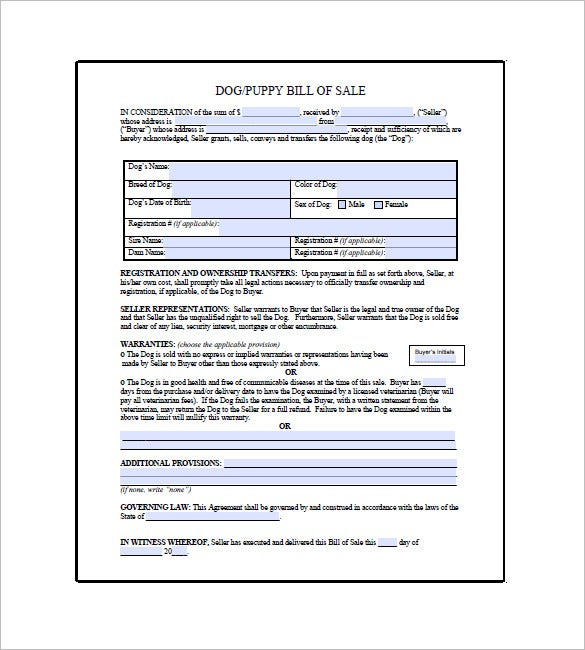 generic application form for canada example