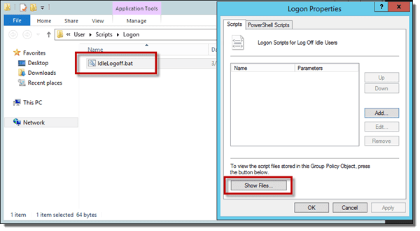 weblogic application log file location