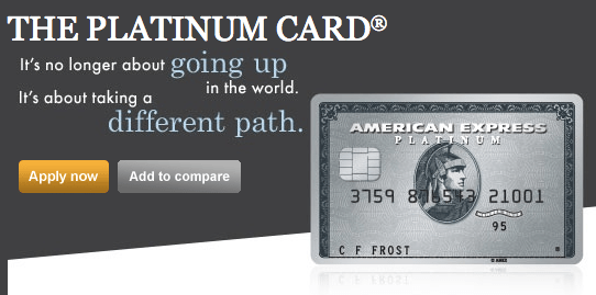 american express card application status