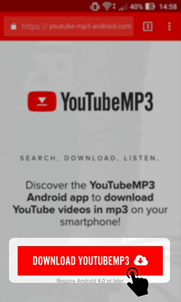 youtube video to mp3 converter application for android
