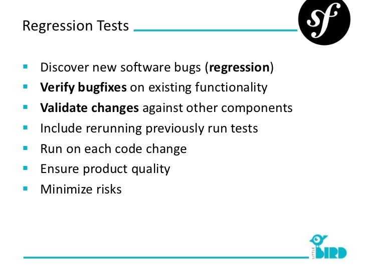 regression testing tools for web applications