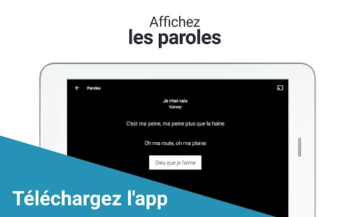 application play store telecharger musique