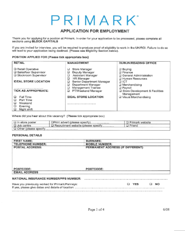 bath and body works printable job application pdf