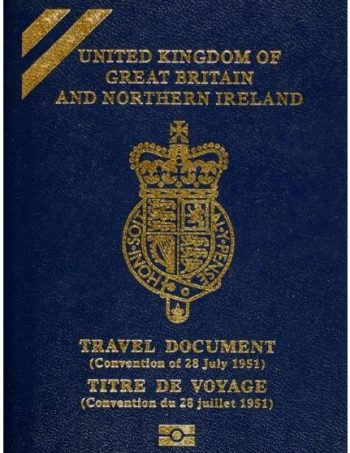 application for a permanent resident travel document