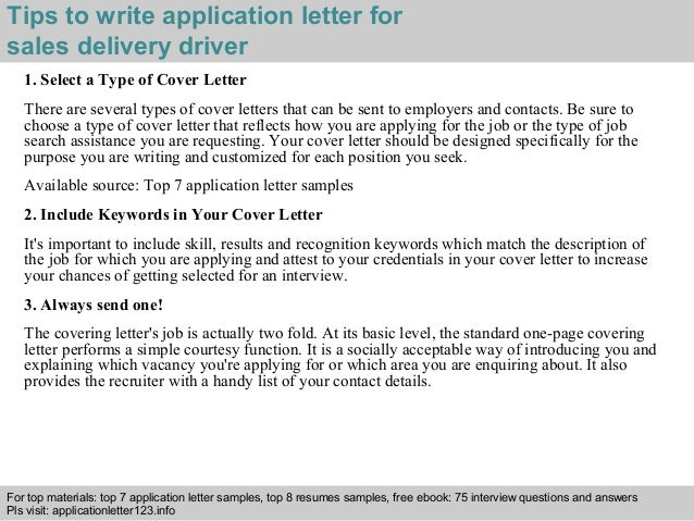 application letter for truck driver