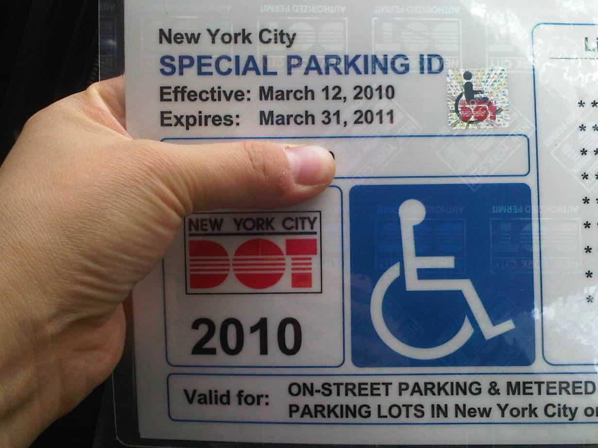 disabled parking permit ontario application