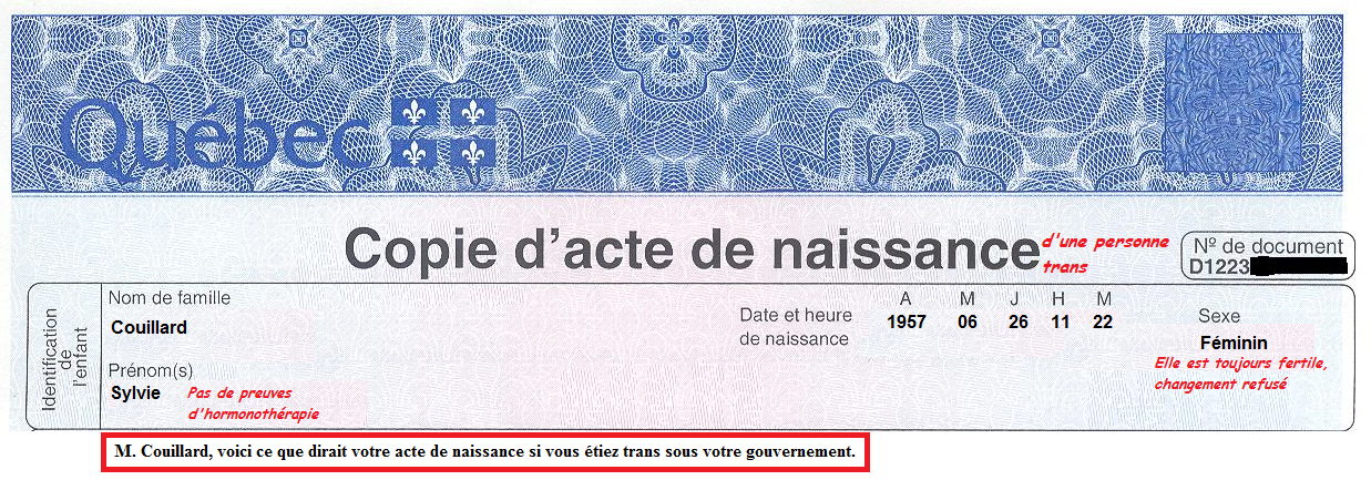 quebec birth certificate application form