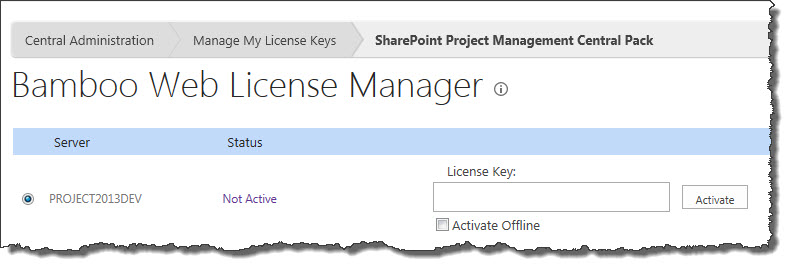 do you need a license key for your application