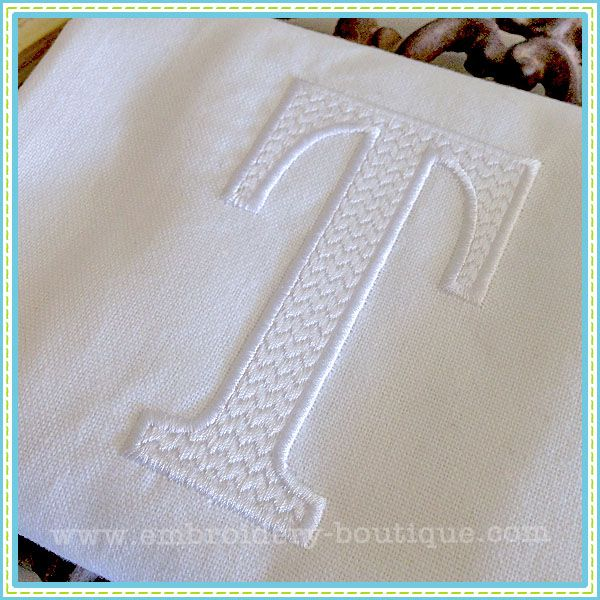 how to do applique with embroidery machine
