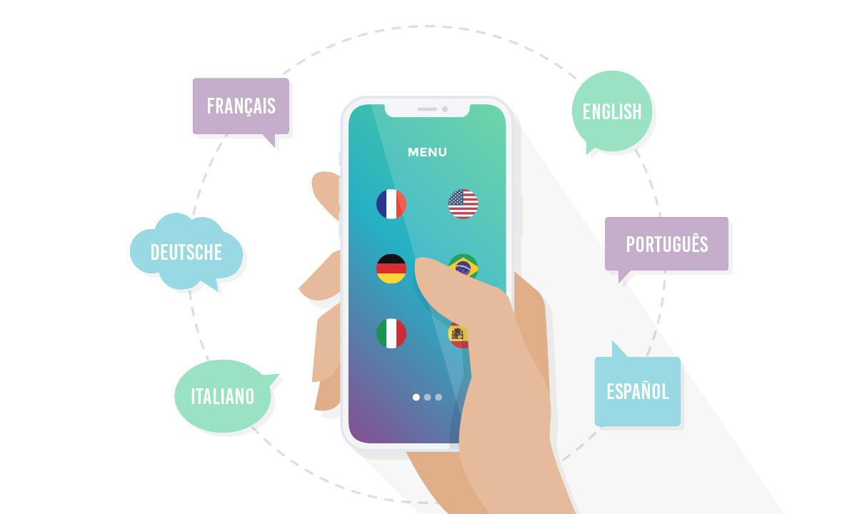 how to make multi language android application