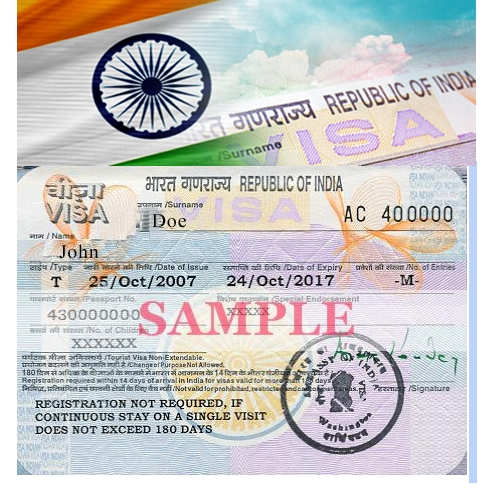 how to track indian visa application